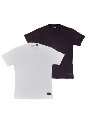 Levi's - Skate 2 Pack Jet Black - T-Shirt