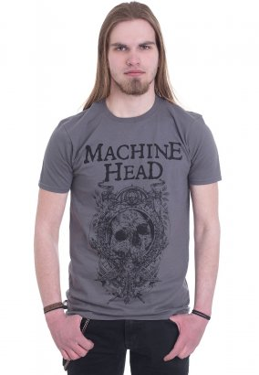 Machine Head - Clock Grey - T-Shirt