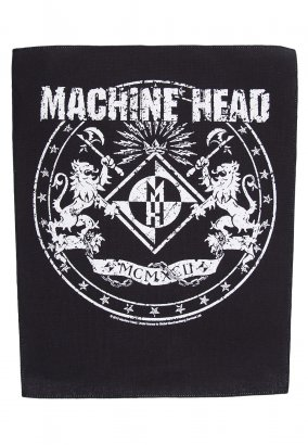 Machine Head - Crest - Backpatch