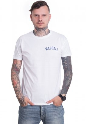 Madball - New Can't Stop White - T-shirt