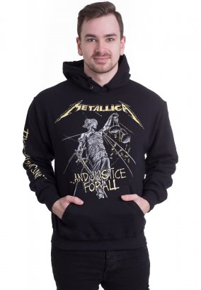Metallica - And Justice For All Tracks - Hoodie