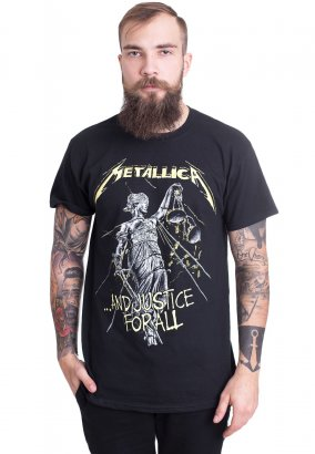 Metallica - And Justice For All Tracks - T-paita