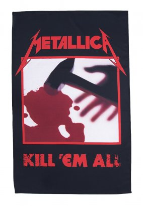 Metallica - Kill 'em All - Flag
