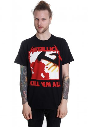 Metallica - Kill 'Em All Tracks - T-Shirt