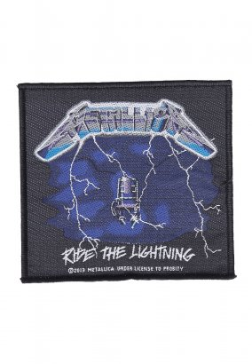 Metallica - Ride The Lightning - Aufnäher