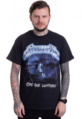 Metallica - Ride The Lightning Tracks - T-Shirt