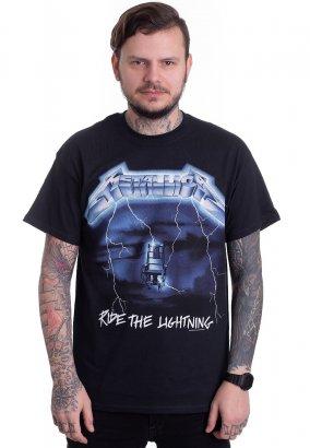 Metallica - Ride The Lightning Tracks - T-shirt