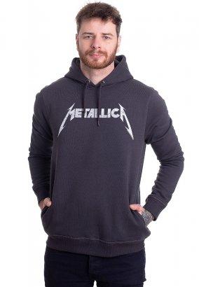 Metallica - White Logo Slate - Hoodie
