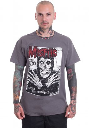 Misfits - All Ages Skeleton Charcoal - T-Shirt
