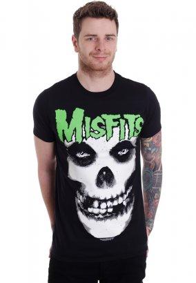 Misfits - Glow Jurek Skull - T-Shirt