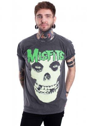 Misfits - Large Skull Vintage Wash - T-Shirt