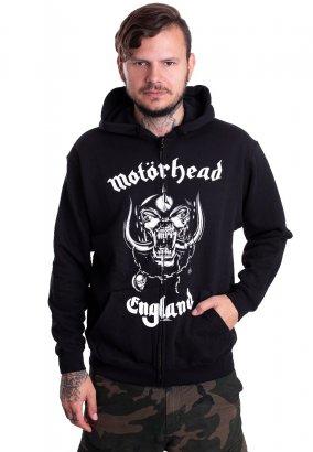 Motörhead - England With BP - Huvtröja med dragkedja