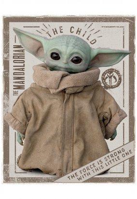 The Mandalorian - The Child Mini - Poster