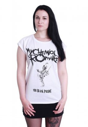 My Chemical Romance - Black Parade Cover White - Girly