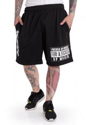 Nasty - Fucked Up Music Zip - Shorts