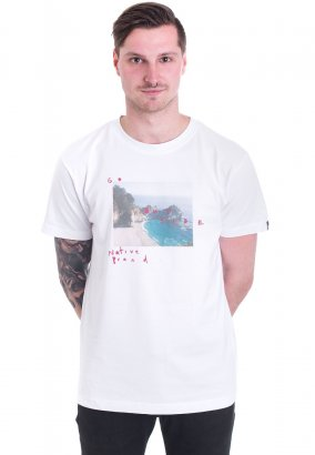 Native Brand - Wander White - T-Shirt