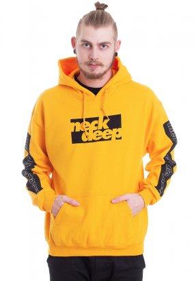 Neck Deep - Bars Gold - Hoodie