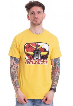Neck Deep - Robot Daisy - T-Shirt