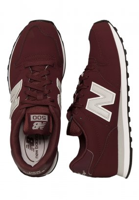 New Balance - GM500 Burgundy - Schoenen