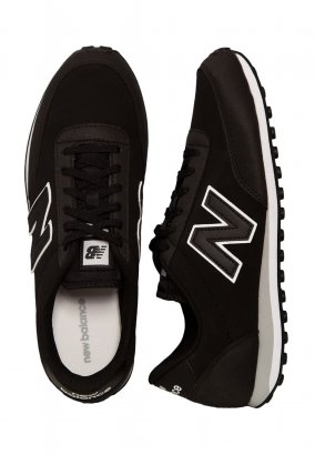 New Balance - U410 D Black/White - Schoenen