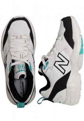 New Balance - WX708 B BT White/Black/Blue - Girl Schuhe