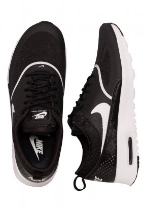 Nike - Air Max Thea Black/White - Girl Shoes
