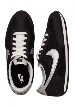Nike - Oceania Black/Metallic Silver/Summit White - Girl Schuhe