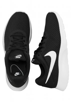 Nike - Tanjun Black/White - Zapatos