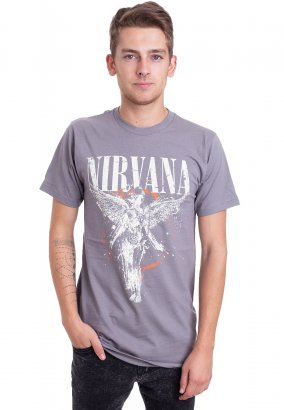 Nirvana - Galaxy In Utero Asphalt - T-Shirt