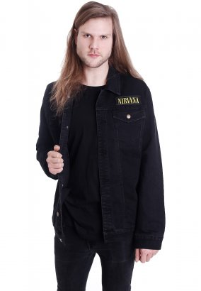 Nirvana - Smile Patches - Jeans Jacke