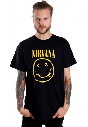 Nirvana - Smiley - T-shirt