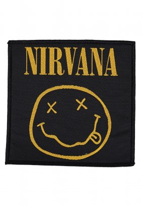 Nirvana - Smiley - Patch