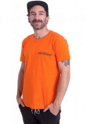 Northlane - Against The World Orange - T-Shirt