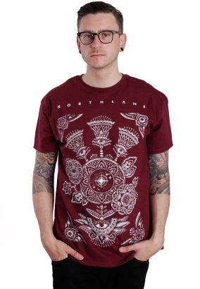 Northlane - Ornament Maroon - T-Shirt