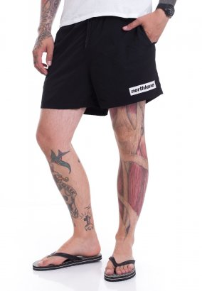 Northlane - White Classic Box - Shorts