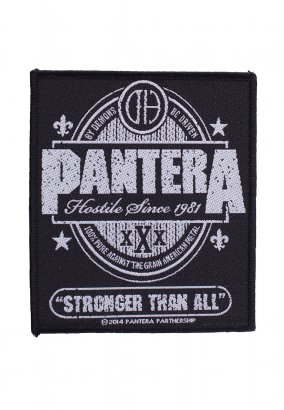 Pantera - Stronger Than All - Aufnäher