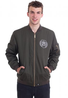 Parkway Drive - Crest Limited Dark Olive Dickies - Jacket