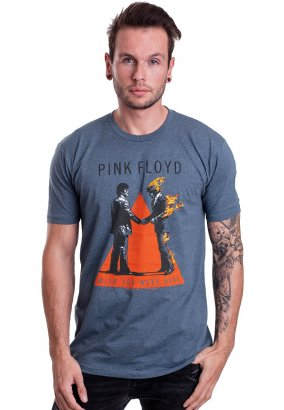 Pink Floyd - Handshake Indigo - T-Shirt