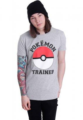 Pokémon - Trainer Grey - T-Shirt