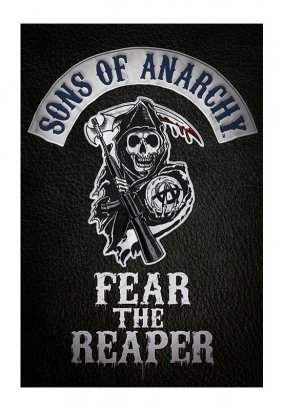Sons Of Anarchy - Fear The Reaper - Poster
