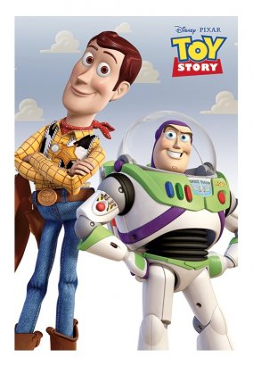 Toy Story - Woody & Buzz - Poster