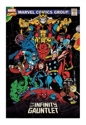 The Avengers - The Infinity Gauntlet - Poster