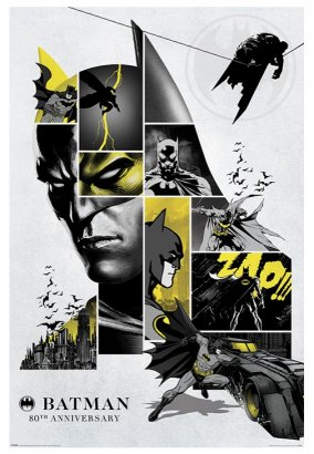 Batman - 80th Anniversary - Poster
