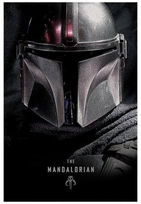 The Mandalorian - Dark Maxi - Poster