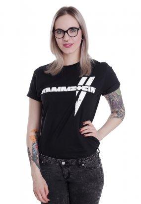 Rammstein - Weiße Balken - T-Shirt