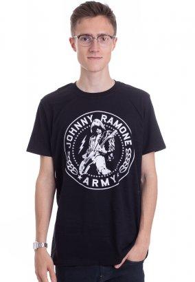 Ramones - Johnny Ramone Army Seal - T-Shirt