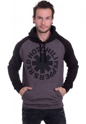 Red Hot Chili Peppers - Black Asterisk Charcoal/Black - Hoodie