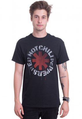 Red Hot Chili Peppers - Stencil - T-Shirt