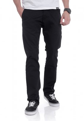 REELL - Straight Flex Chino PC Black - Broeken