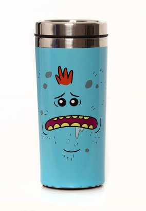 Rick And Morty - Mr Meeseeks Travel - Kaffeebecher